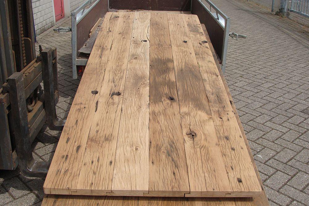 Oude eiken wagonplanken te koop pepijn kempen design