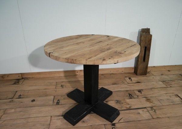 Ronde Tafel Hout : Eetkamer tafel hout cool hout eetkamer tafel u stoele with